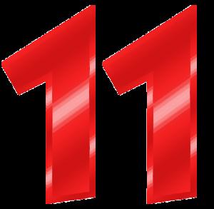 Broj želje srca 11