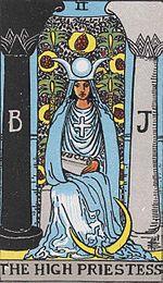 150px-RWS_Tarot_02_High_Priestess