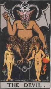 RWS_Tarot_15_Devil