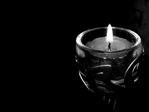 Wallpaper-Black-Candle