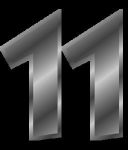 Broj životnog puta 11