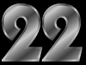Broj životnog puta 22
