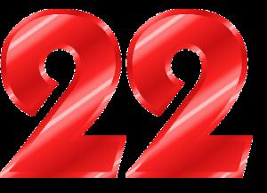 Broj želje srca 22