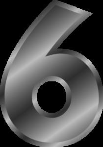 Broj životnog puta 6