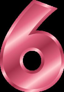 Skriveni broj strasti 6