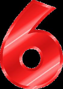 Broj želje srca 6