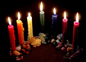 Candles-and-Stones