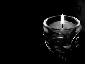Wallpaper-Black-Candle